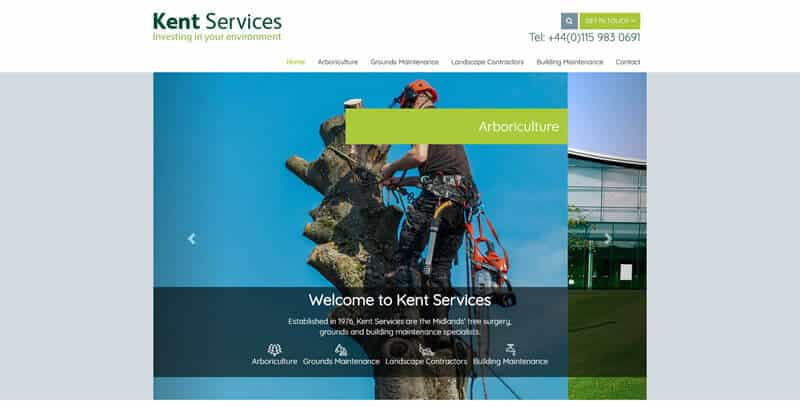 Jack Kent Services MODX website