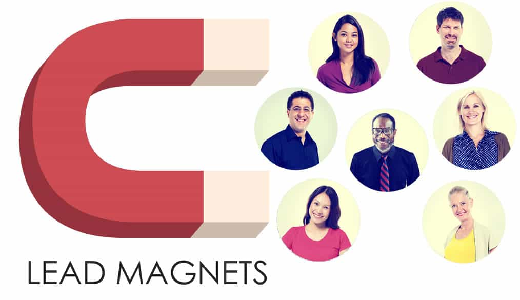 Lead magnets and landing pages for attraction inbound marketing