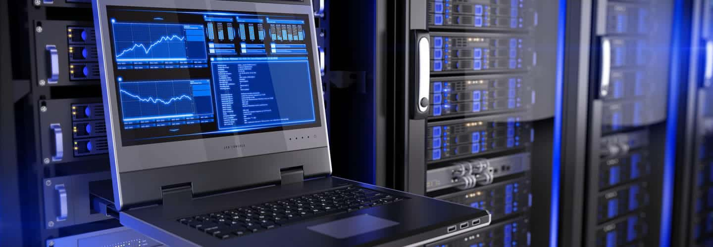 Linux web hosting data centre